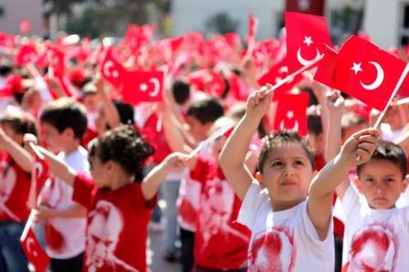 Путин поздравил главу Турции с Днем Республики