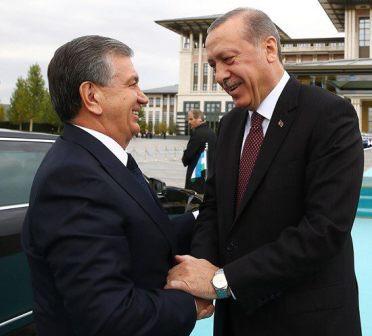 Шавкат Мирзиёев в Турции