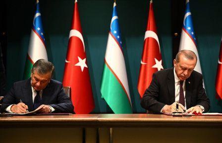 В результате переговоров было подписано более 20 документов по различным сферам сотрудничества между Узбекистаном и Турцией