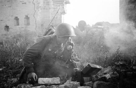 Гафар Фазиль был связным в артиллерии