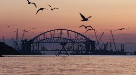 Если где-нибудь строится мост…