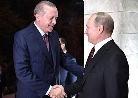 13 ноября 2017 прошли переговоры президентов России и Турции Владимира Путина и Реджепа Тайипа Эрдогана в Сочи