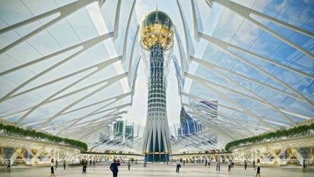 Президент Казахстана рассказал о своей идее накрыть один из районов Астаны куполом