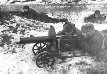Муса Каракоз был старшиной пулеметной роты