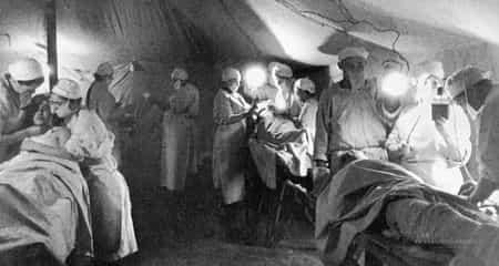 Сейфула Аблялимов командовал санитарной ротой