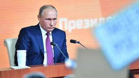 В прямом эфире Путин