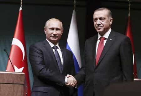 Путин опять летит к Эрдогану