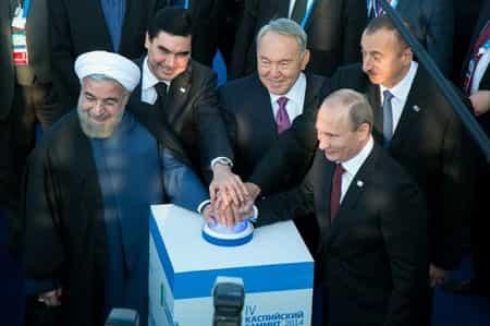 Каспий поделят на сектора