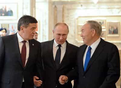 Как Путин помирил Кыргызстан и Казахстан