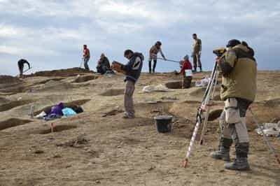 Под «Тавридой» нашли сотни захоронений