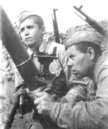 Аблелим Каджиметов истреблял врагов из миномета