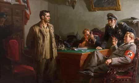 Ашир Караев был партизанским разведчиком