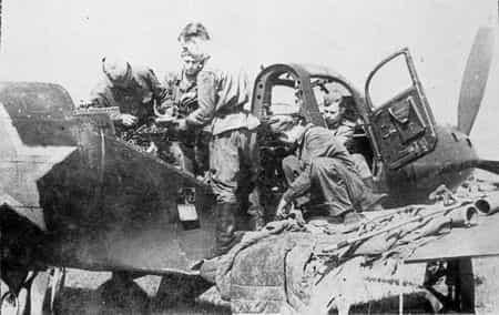 Ибрагим Татаров восстанавливал и ремонтировал самолеты