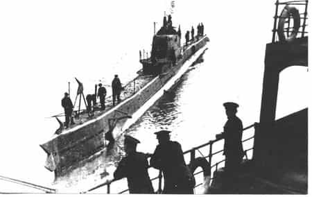 Подводная лодка Щ-214