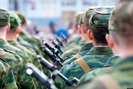 В армии отменили Российскую Федерацию