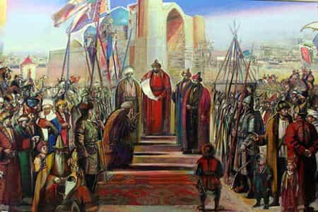 На каком языке говорили казахские ханы?