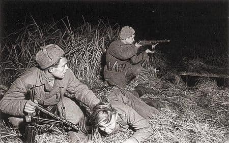 Молан Абжемелев обратил немцев в бегство