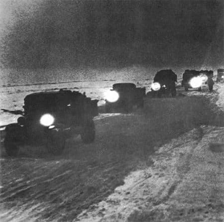 Абдула-Гани Багаутдинов командовал взводом автомашин