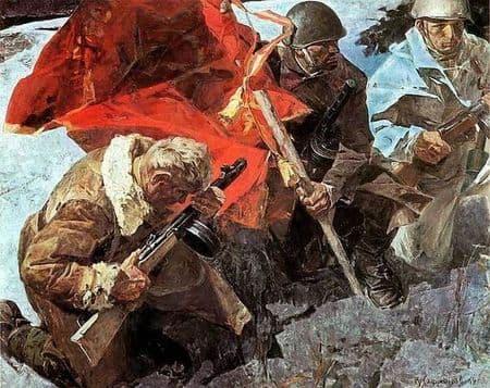 Мустафа Шарваджи спас полковое знамя