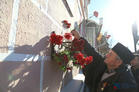 В Симферополе прошел митинг в память об Амет-Хане Султане