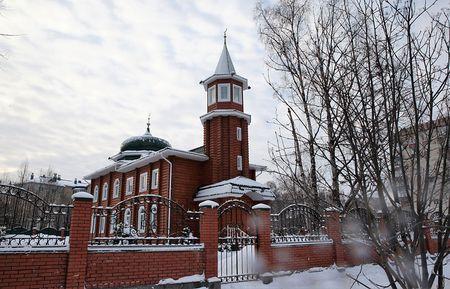 В Архангельске восстановили историческую мечеть