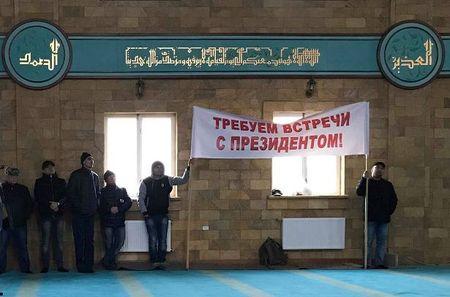 Зачем крымские татары объявили голодовку. Видеорепортаж