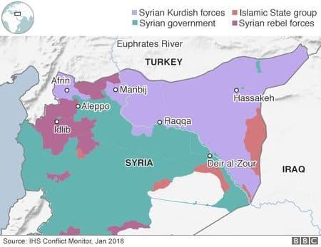 Курдов лишили доступа к границе с Турцией