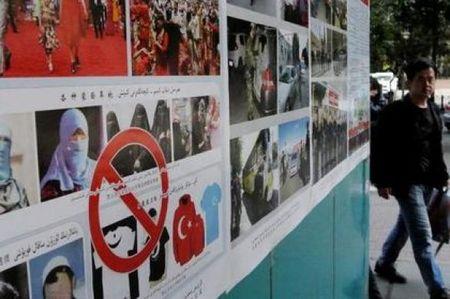 В Китае уйгуров сгоняют влагеря