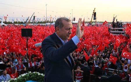 Эрдоган: Мы не претендуем на земли других стран