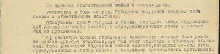 На фронтах отечественной войны с первых дней. Участвуя в боях за город Новороссийск, Анапа, показал себя смелым и мужественным водителем. Обслуживая пушку ПТО, идя в боевых порядках наших подразделений, умелым манёвром машины, с хода разворачивал пушку, и расчёт бил по противнику. 21 сентября прямым попаданием вражеского снаряда была разбита машина другого водителя, где был убит водитель и командир отделения. Товарищ Эмир-Амет подскочил своей машиной, выхватил из-под огня пушку, прицепил к своей машине и продолжал преследовать противника...
