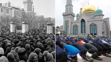 Как менялась Москва мусульманская
