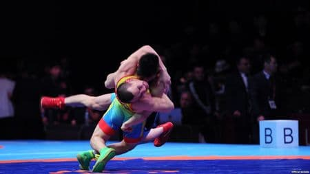 В Бишкеке прошел Чемпионат Азии по борьбе