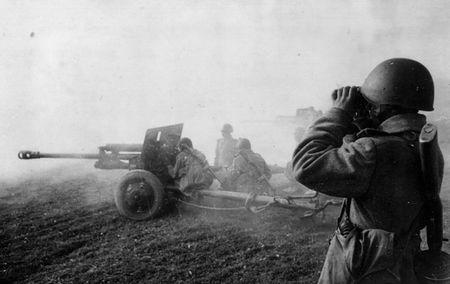Саит Шакиров был командиром орудия