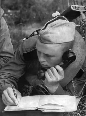Асан Усеинов обеспечивал связью командование корпуса