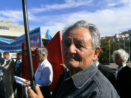 Робеспьер Гралов на Втором общенациональном собрании 18 октября 2012 г.