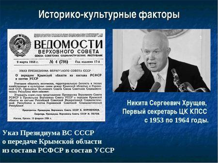 Почему Хрущёв «забыл» про крымских татар