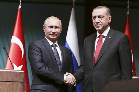 Зачем Путин летит к Эрдогану