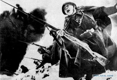 Семен Абильвапов забросал гранатами группу немцев