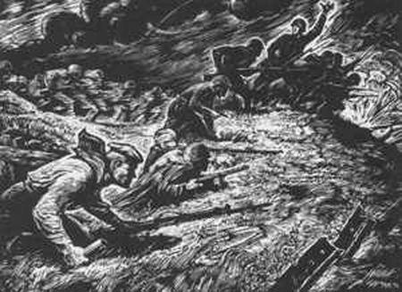 Борис Аджикадыров забросал фашистов гранатами