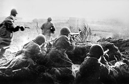 Аджи Эмирвалиев в бою за хутор Дружный уничтожил 12 фашистов