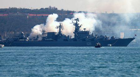 Черноморский флот на рейде Севастополя