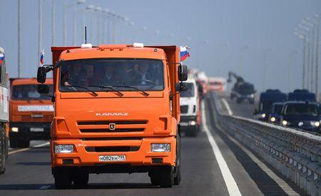 Путин открыл Крымский мост