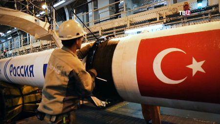 Газпром завершил строительство первой нитки «Турецкого потока»