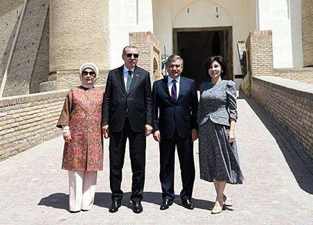 Эрдоган отмечал первомай в Бухаре