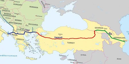 TANAP запустят вДень России