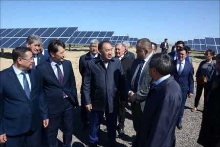 В Казахстане запущена первая солнечная электростанция