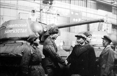 Кыргызстан во Второй мировой войне