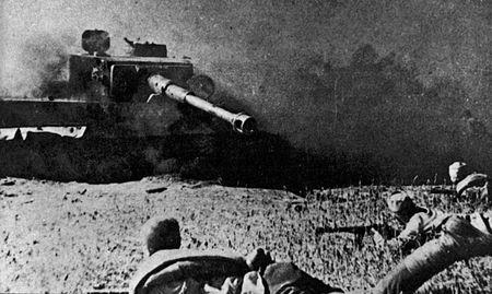 Гафар Ситяев в бою подбил «Фердинанд»
