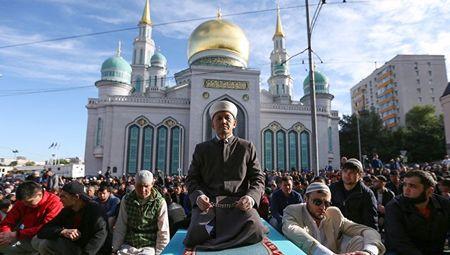 Как Москва отпраздновала Ураза-Байрам
