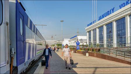 Из Ташкента в Фергану на поезде